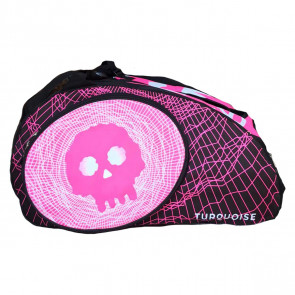 Borsone Beach Tennis Turquoise SUPER PRO BAG BLACK DEATH PINK 2020